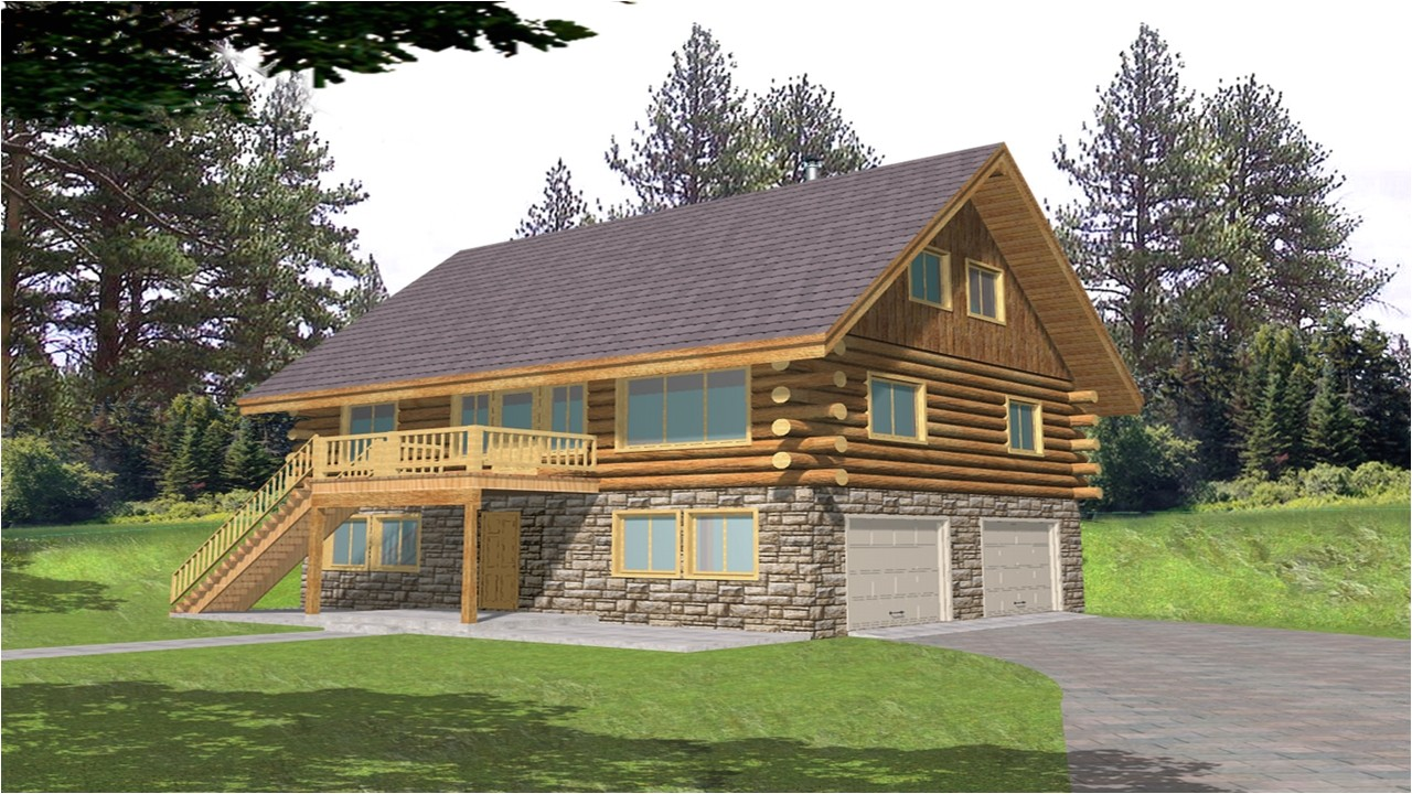 9f1ae9a550077634 log cabin home floor plans with garage log cabin floor plans