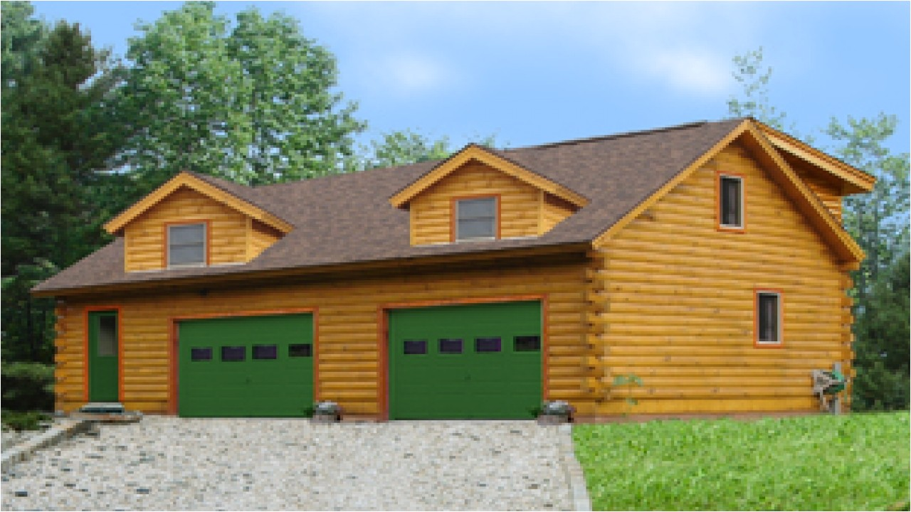 Log Home Floor Plans with Garage Log Home Plans with Garages Log Cabin Garage with