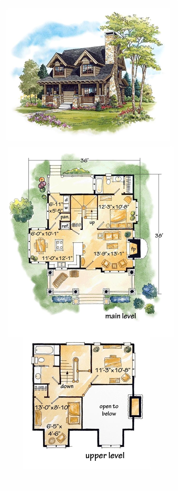 log home living floor plans