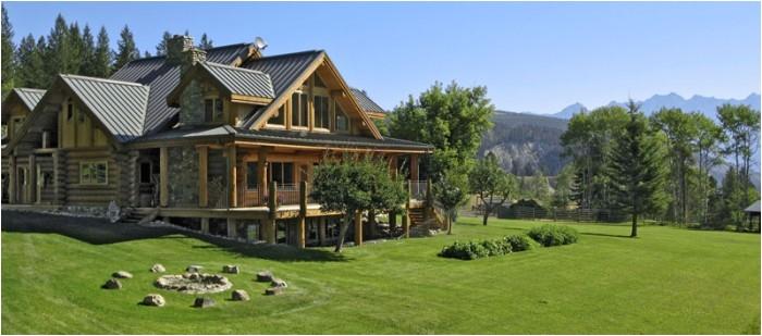 custom log homes in bc natural style tasteful design