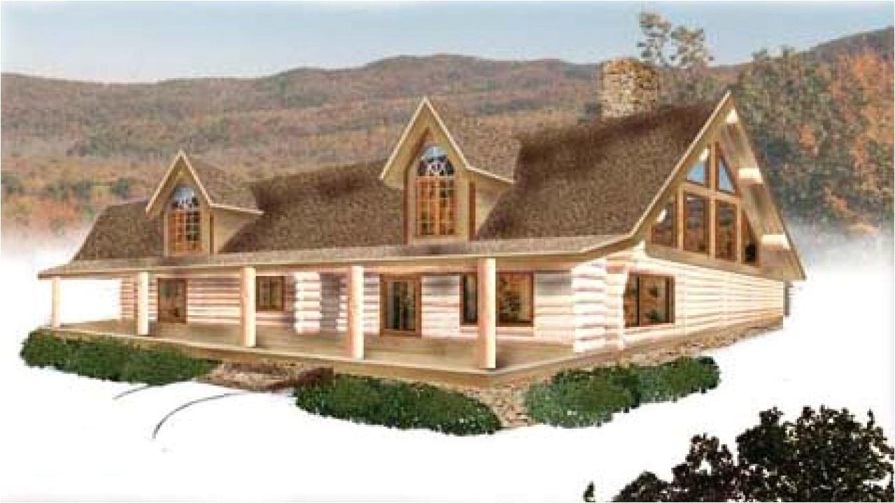 log house plans canada
