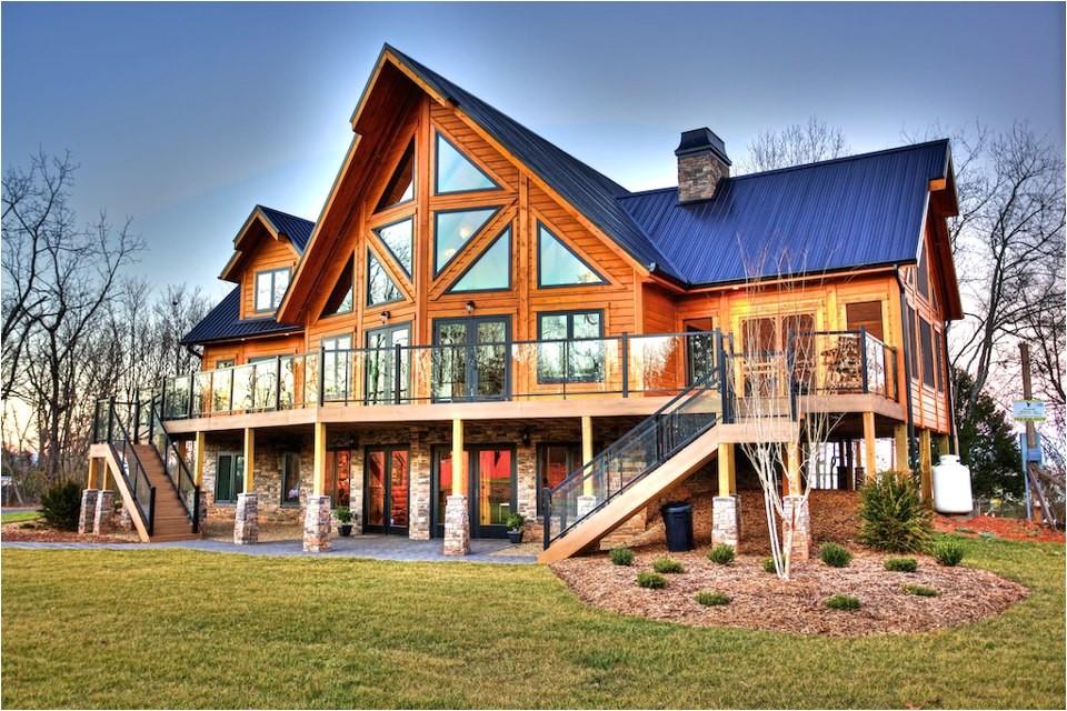 north carolina timber block homes