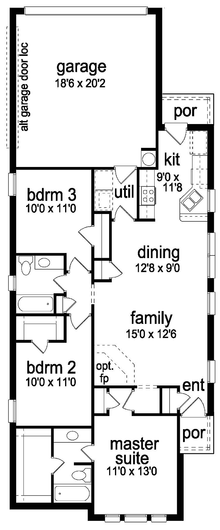 unique home plans for narrow lots 7 long narrow lot house plans