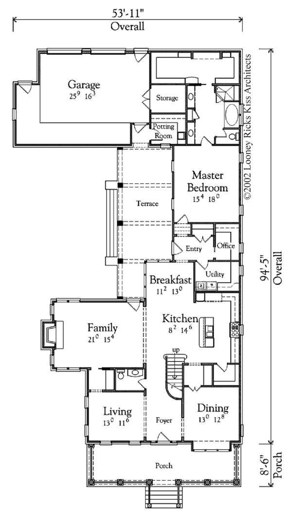 Looney Ricks Kiss House Plans Rucker Place Looney Ricks Kiss Architects Inc