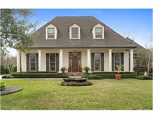 Louisiana Style Home Plans Acadian House Plans Pinterest Hedges Home and Columns