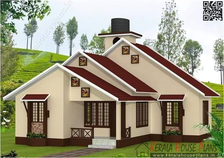 kerala low budget house plan elevation