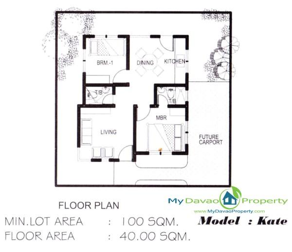 low cost housing floor plans