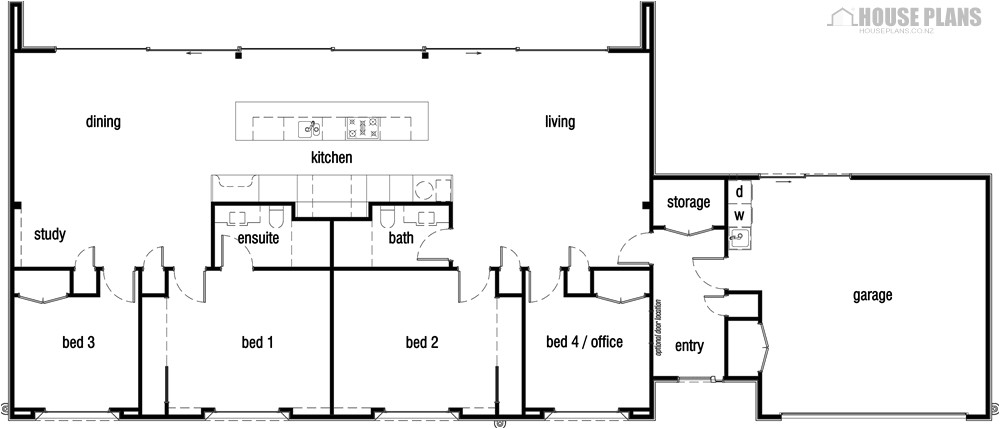 symmetrical house plans with regard to property