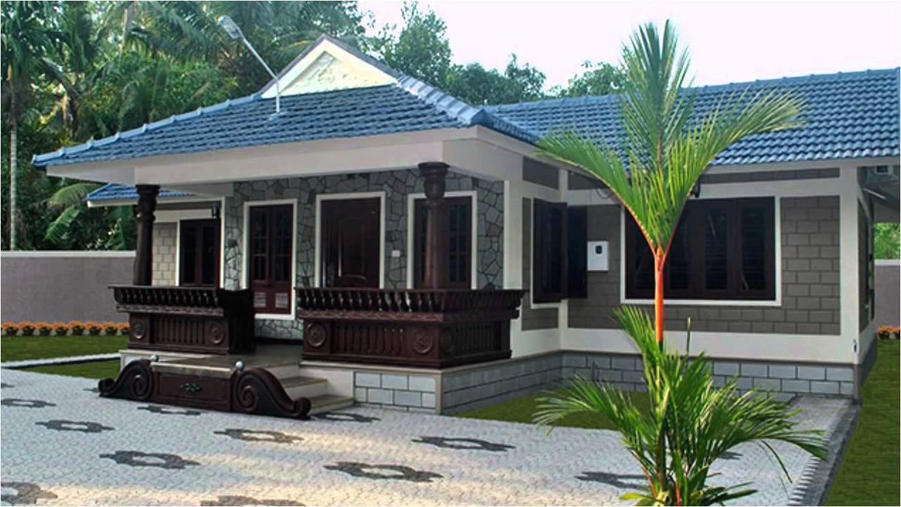 budget home designs kerala low cost homes designed