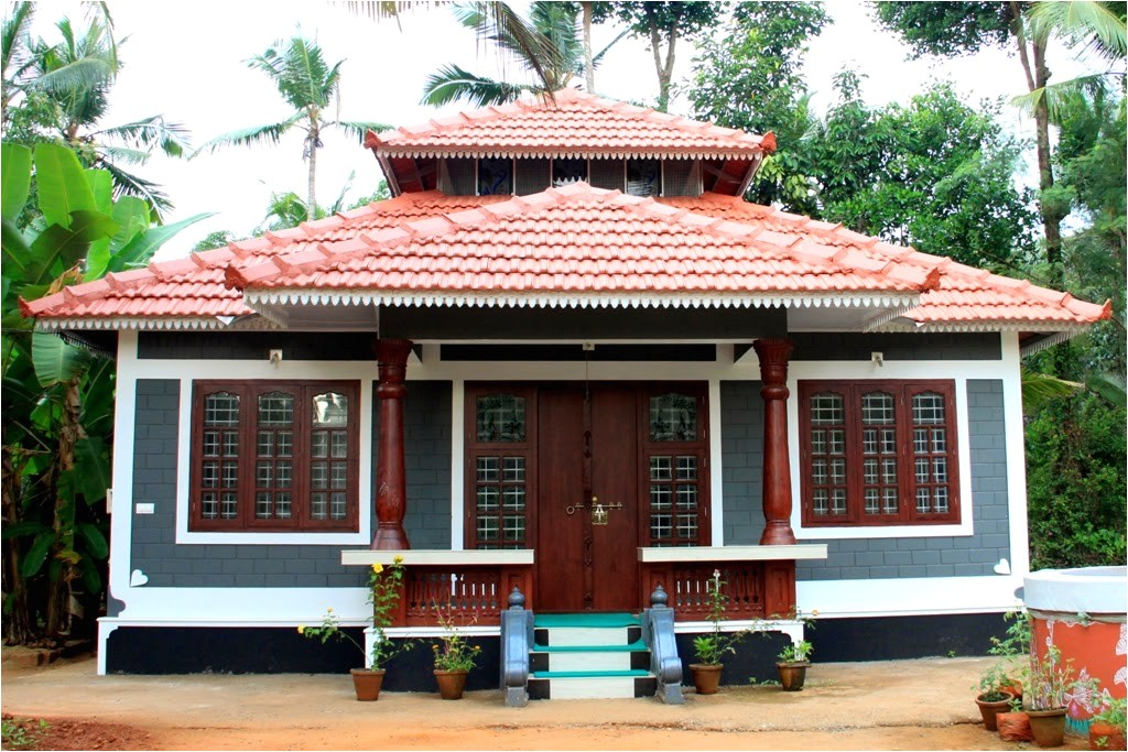kerala traditional low cost home design