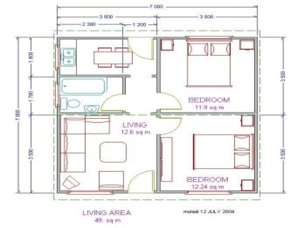 low cost to build house plans