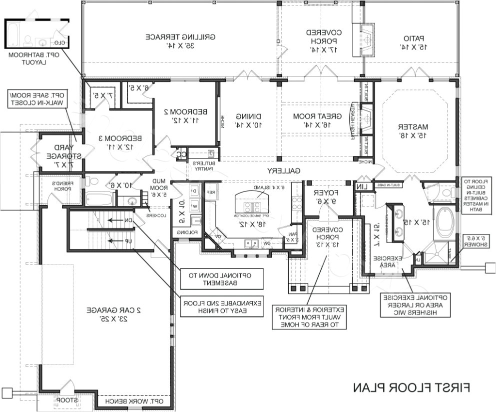 empty nester house plans popular luxury home for nesters
