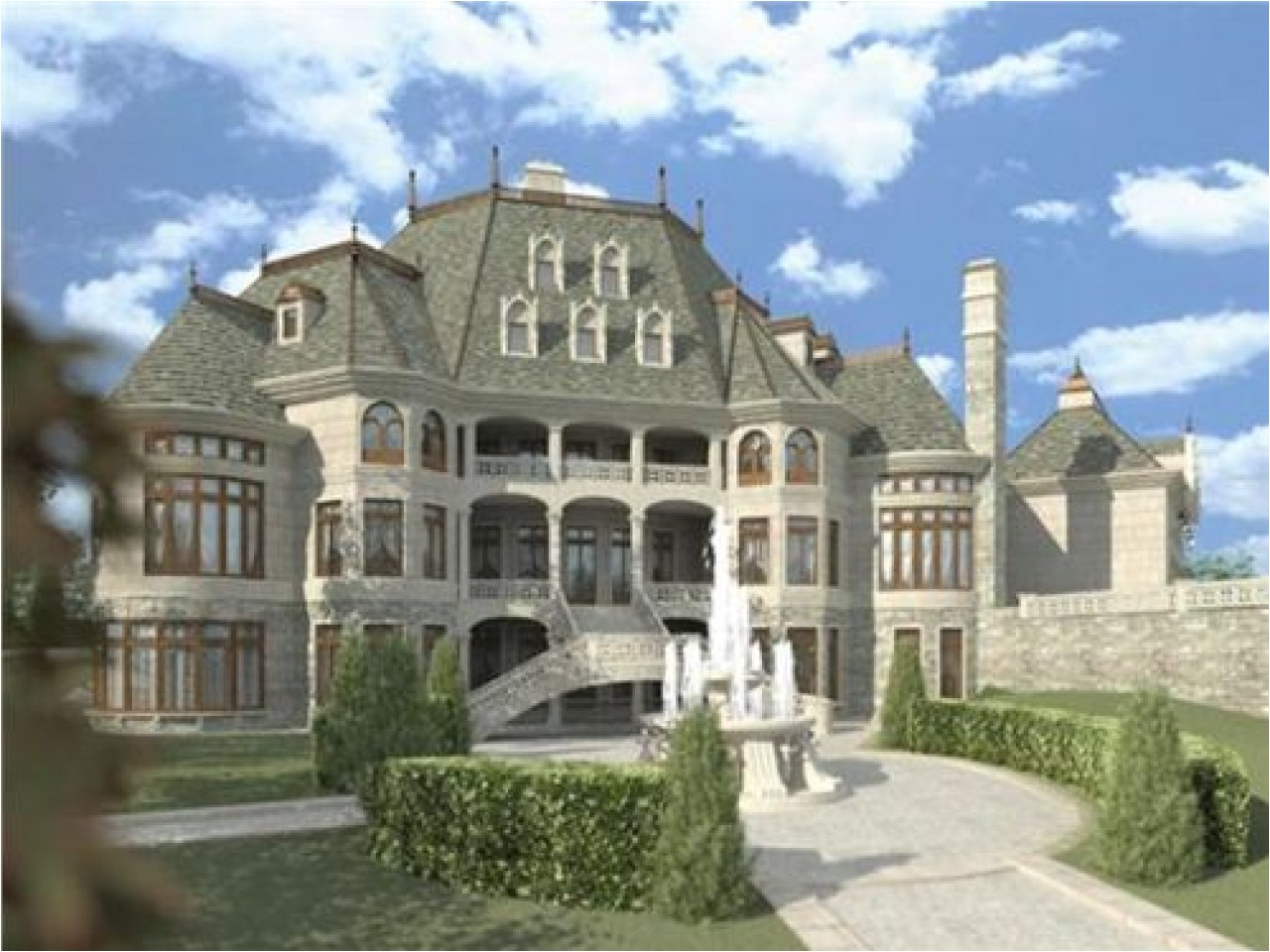 79c4f2343dab64b1 luxury bedrooms luxury french chateau house plans