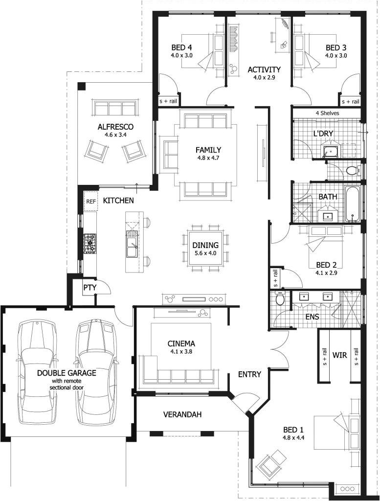 Luxury Home Plans 2018 One Level Luxury House Plans and Amazing Single Story 4