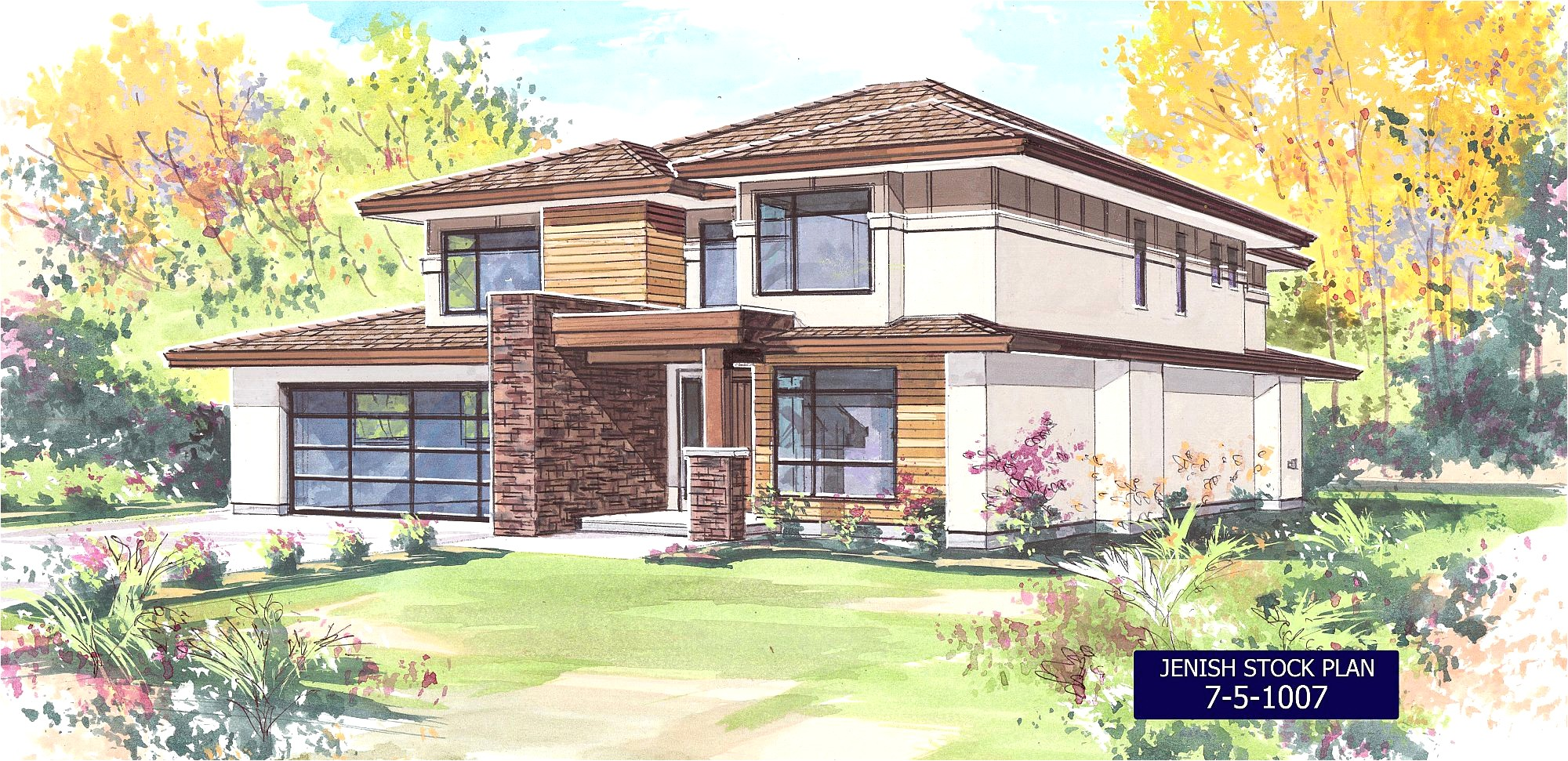 luxury home plans canada