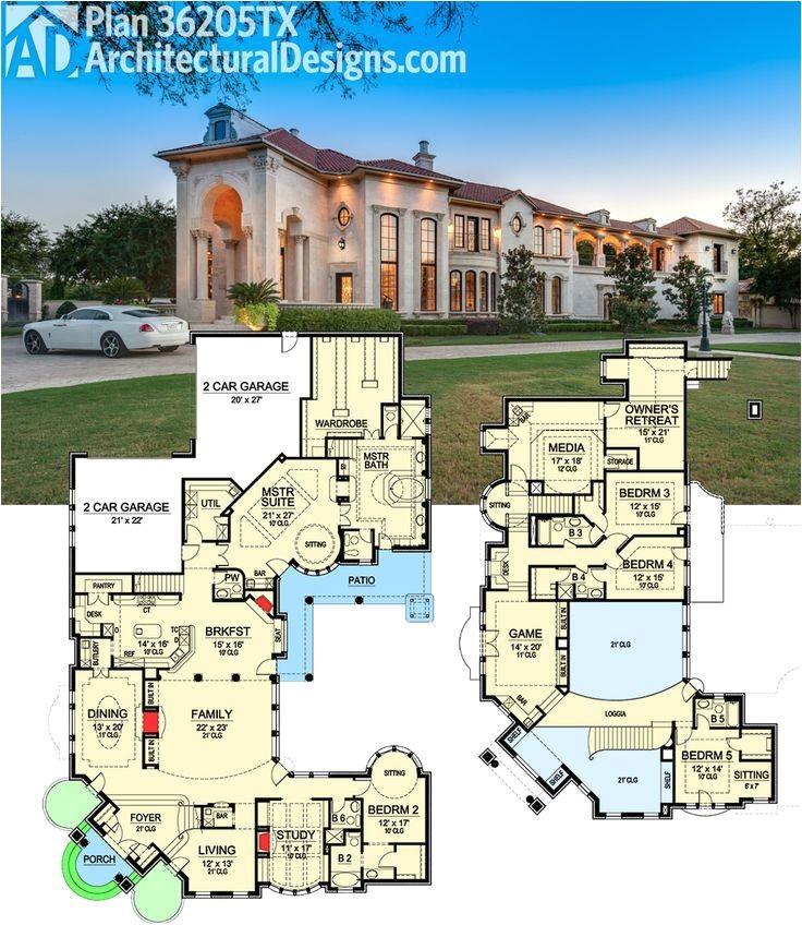 luxurious floor plans