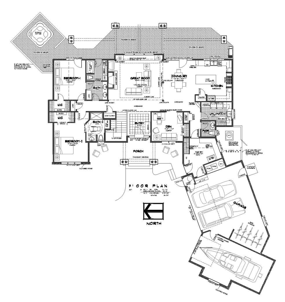 small luxury home floor plans
