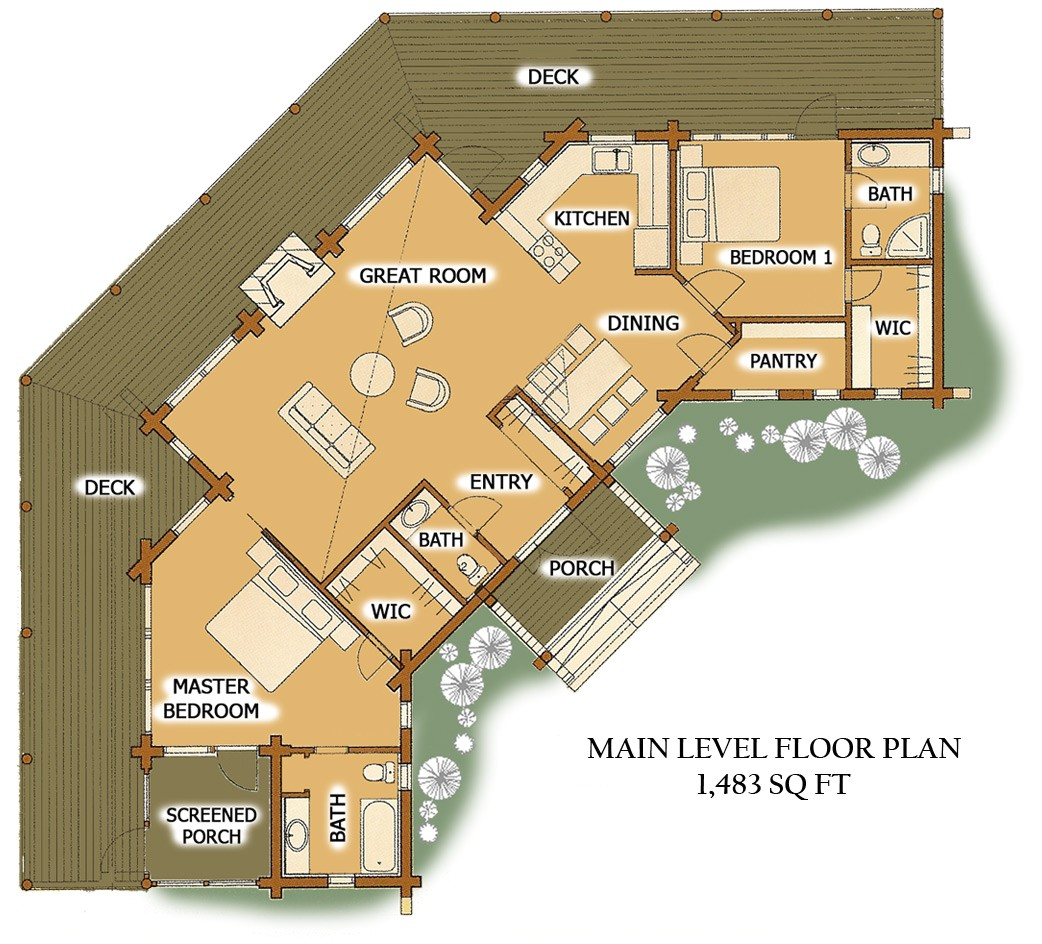 floorplan pinefalls