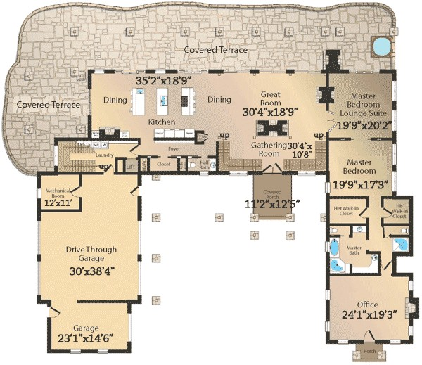 floor plans for mountain homes luxury 37 mountain home plans with open floor plans mountain cottage