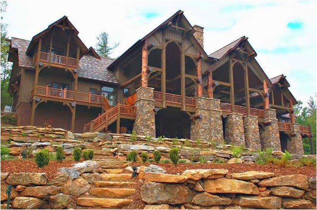 luxury mountain house plans