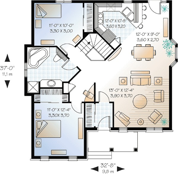 small luxury home plans 2