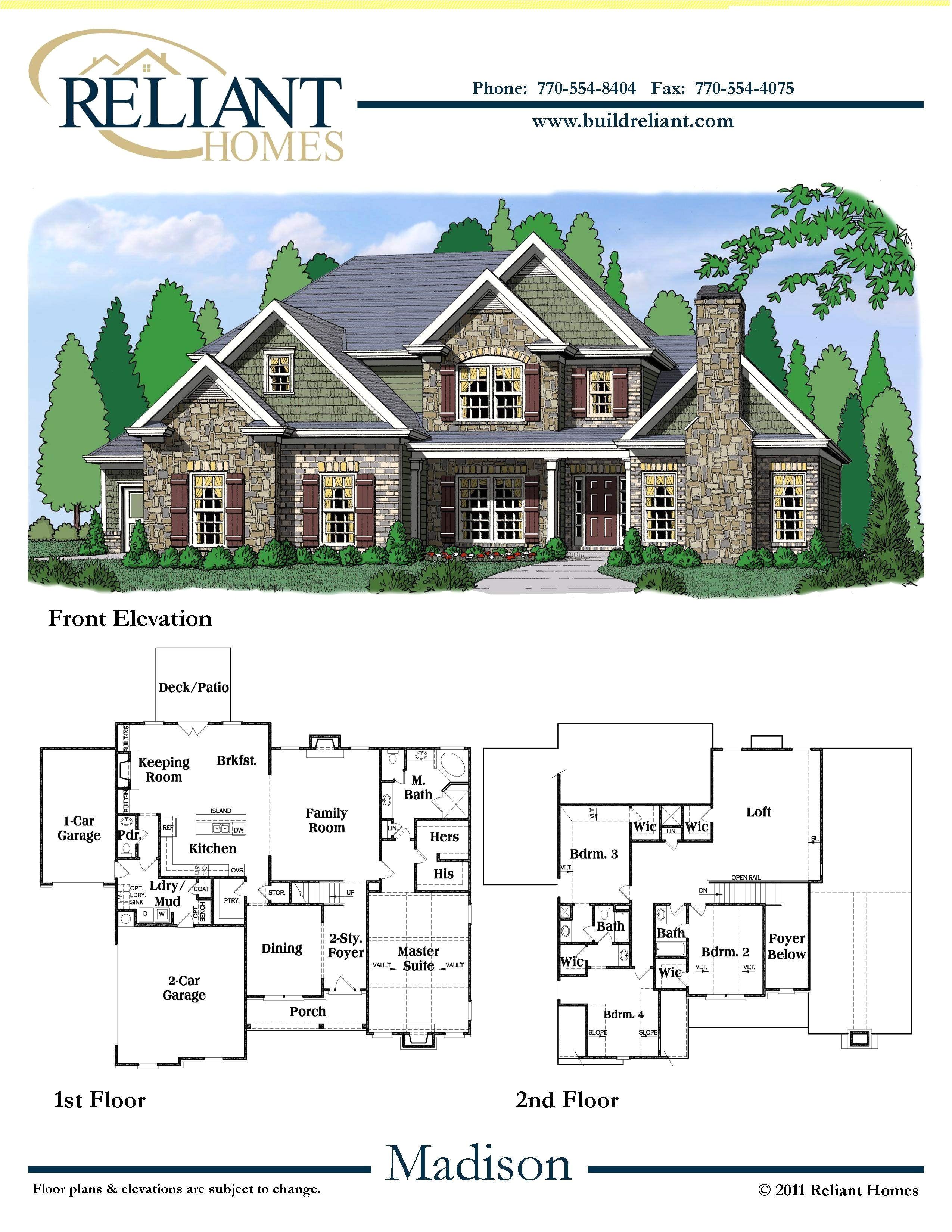 ryland homes floor plans inspirational madison floor plan ryland homes home plan