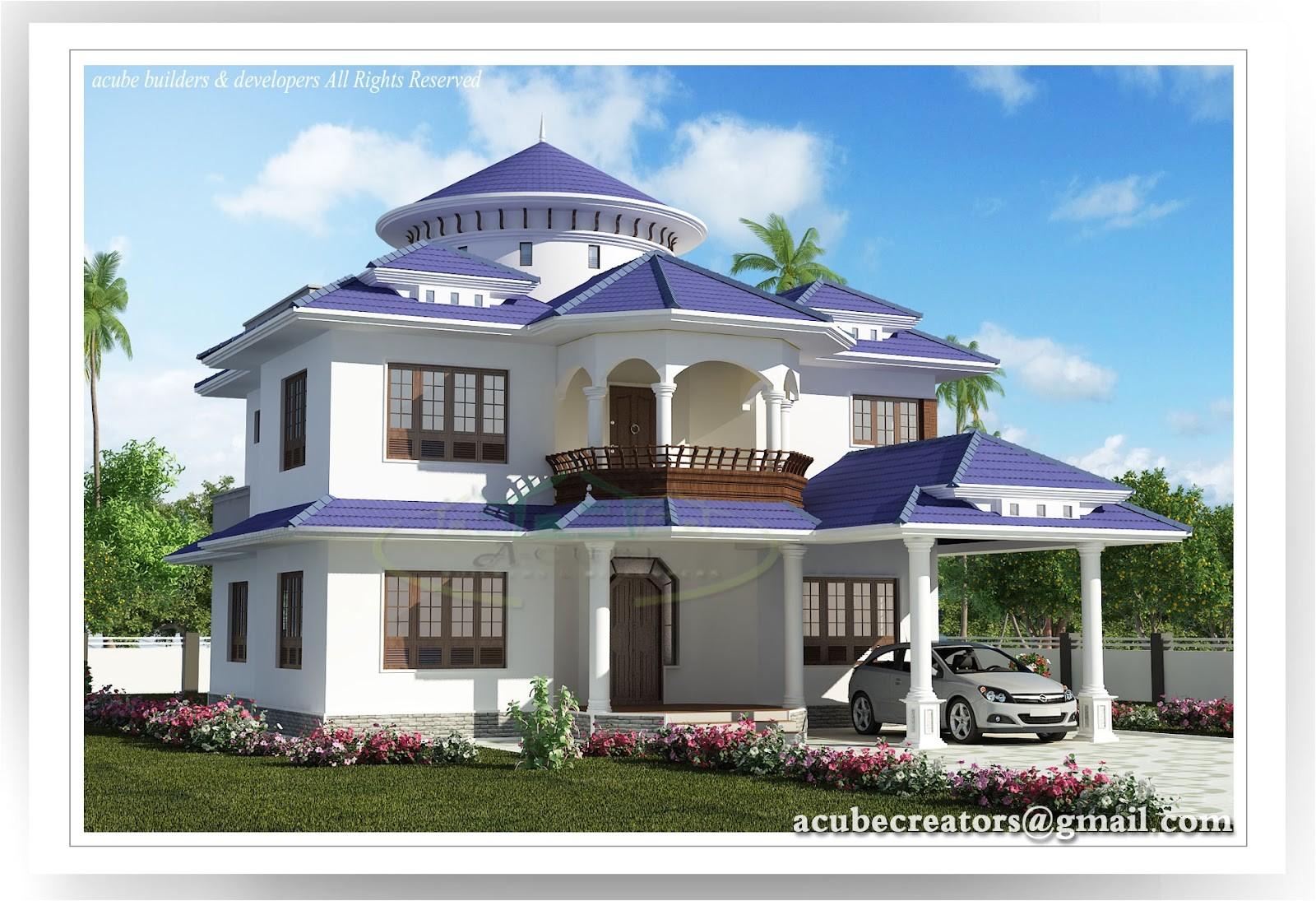 Mansion Home Plans and Designs Kerala Home Design Peenmedia Com