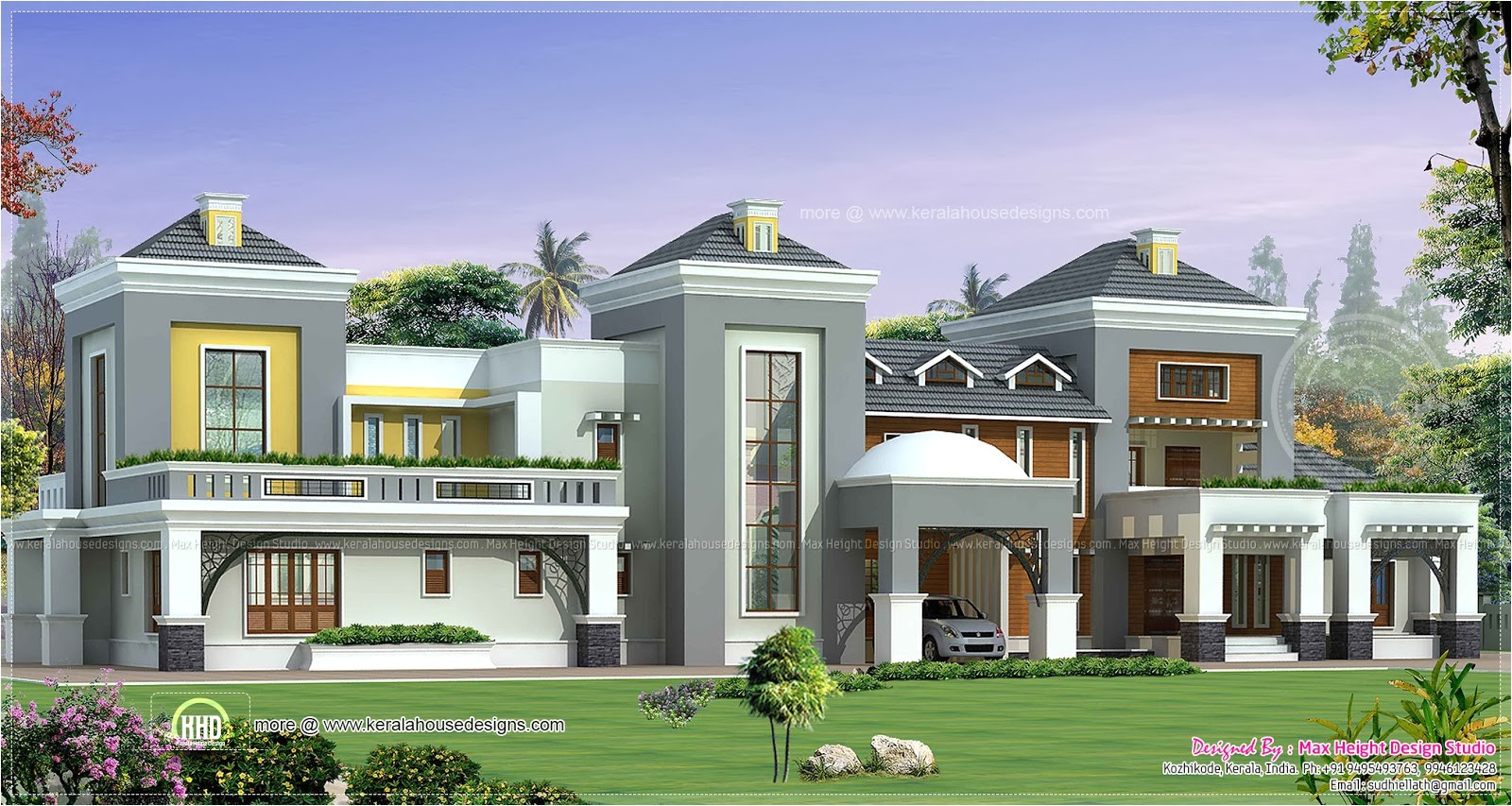 luxury indian house plan