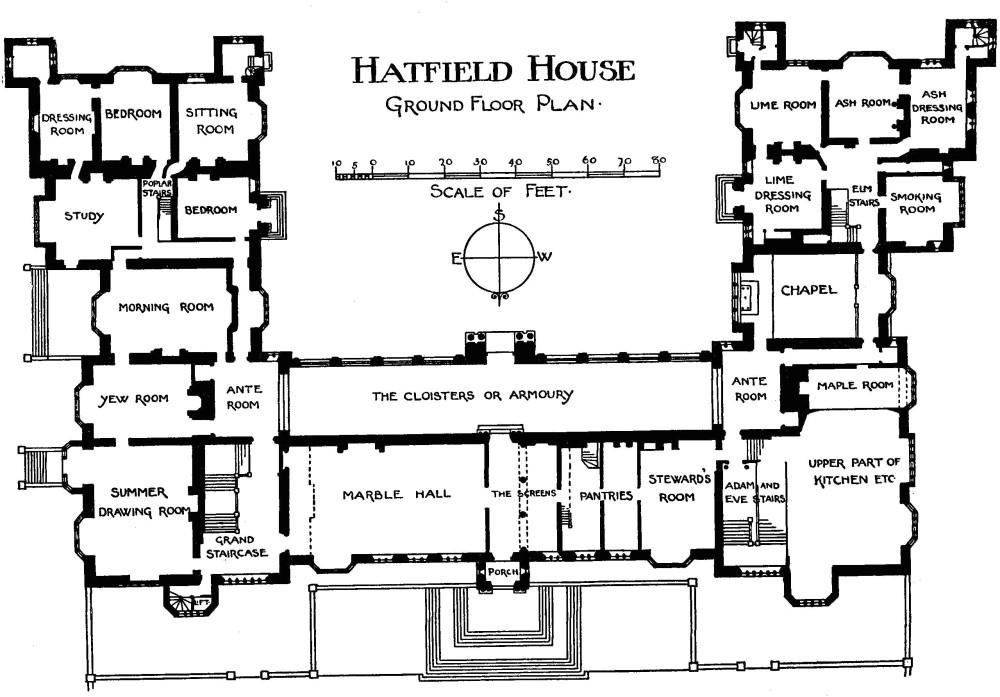 english manor house floor plans designs list