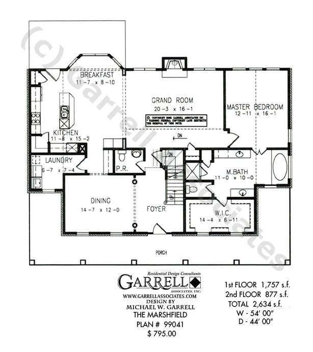 marshfield house plan