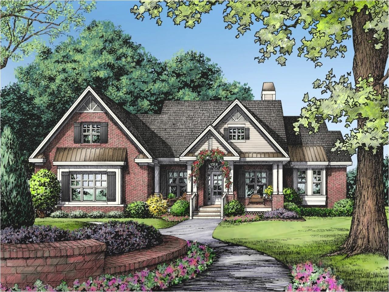 Masonry Home Plans One Story Brick Ranch House Plans One Story Ranch Modular