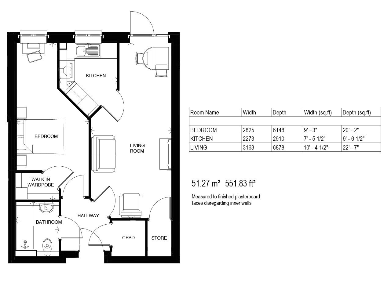 mr and mrs smith house floor plan