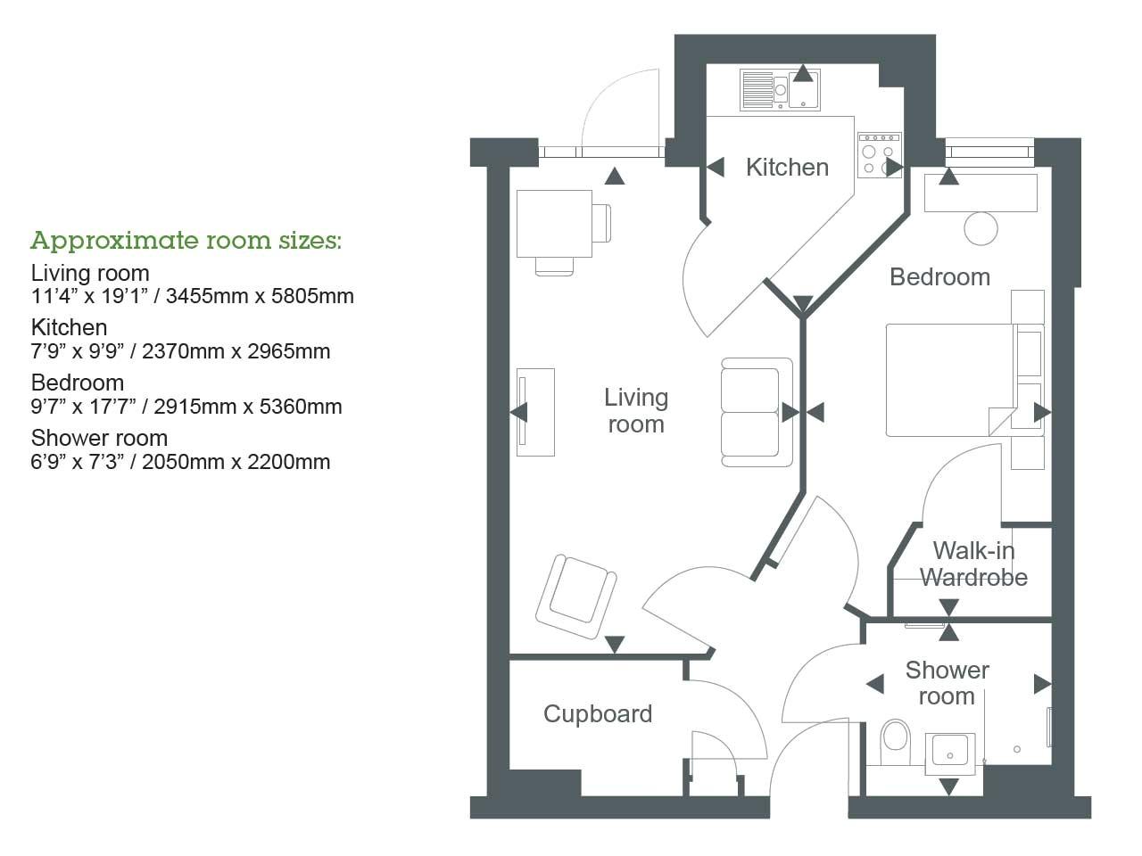 knole house floor plan