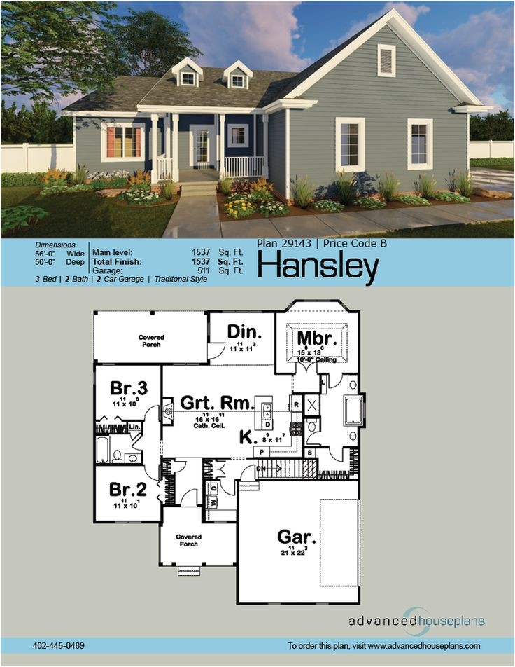 ahp 1 story house plans