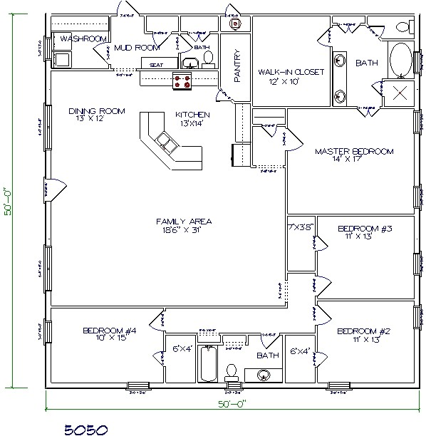 top 5 metal barndominium floor plans for your dream home hq plans