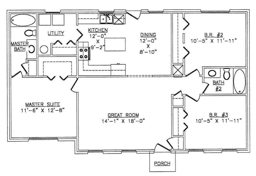 steel frame house floor plans