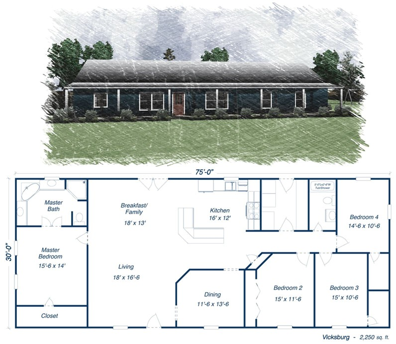 metal house plans