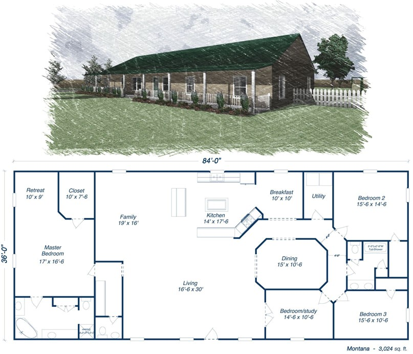 Metal Home Plans Steel Building On Pinterest Steel Homes Floor Plans and