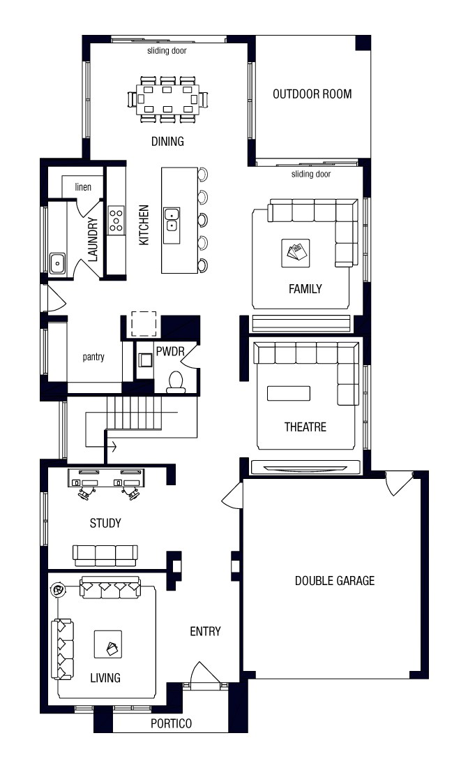 metricon double story house plans