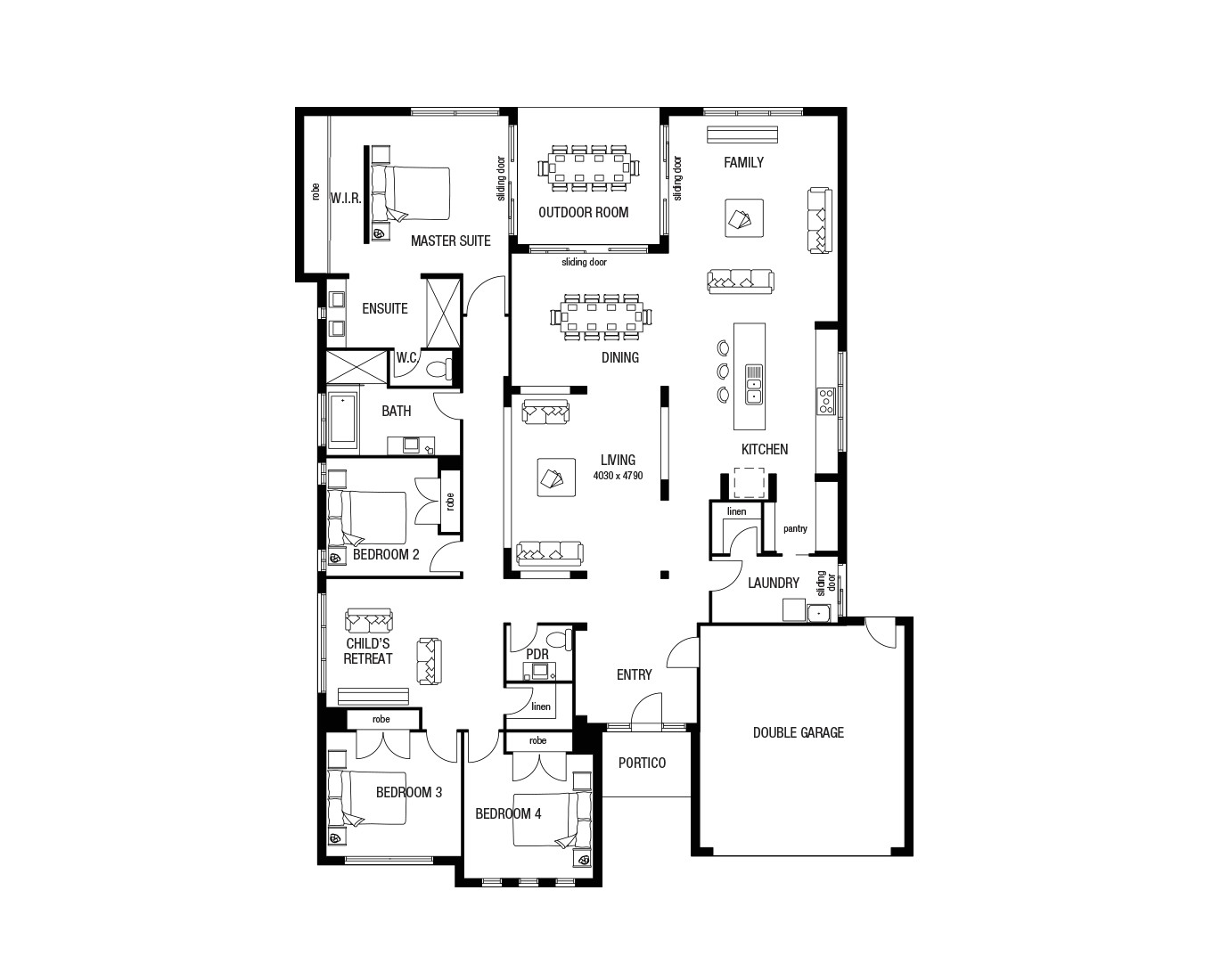 Metricon Home Floor Plans Metricon Homes House Plans House Plans