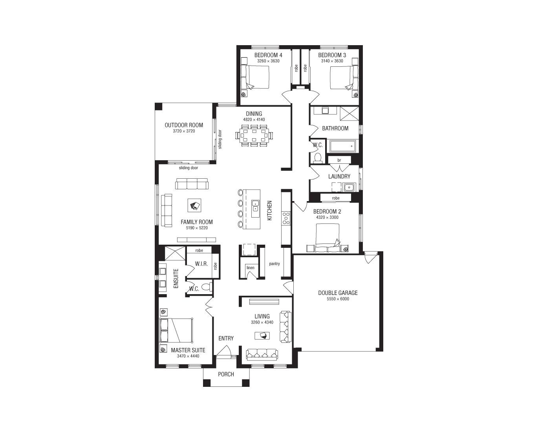metricon house designs