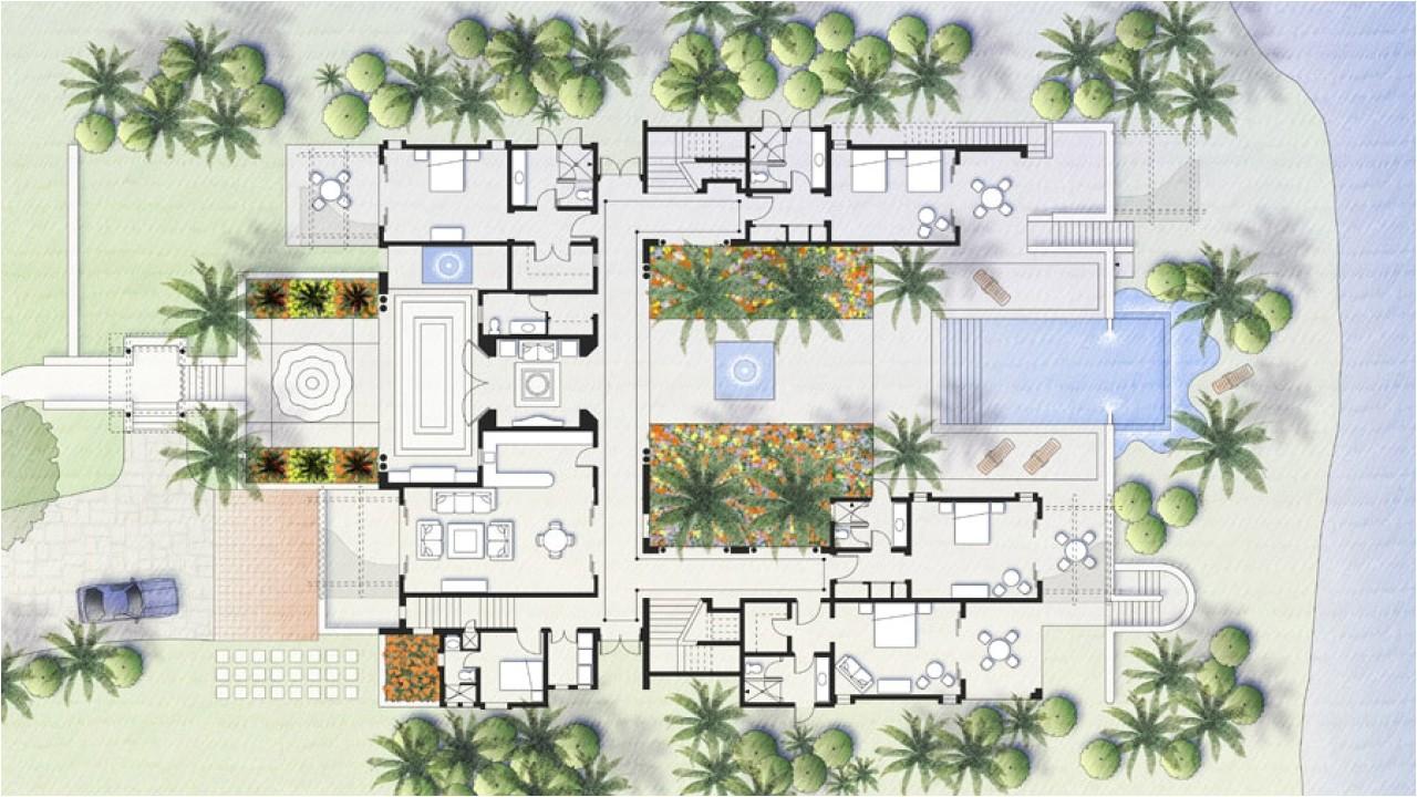 57d0dc4811084e4d mexican style backyards mexican hacienda with courtyard floor plan