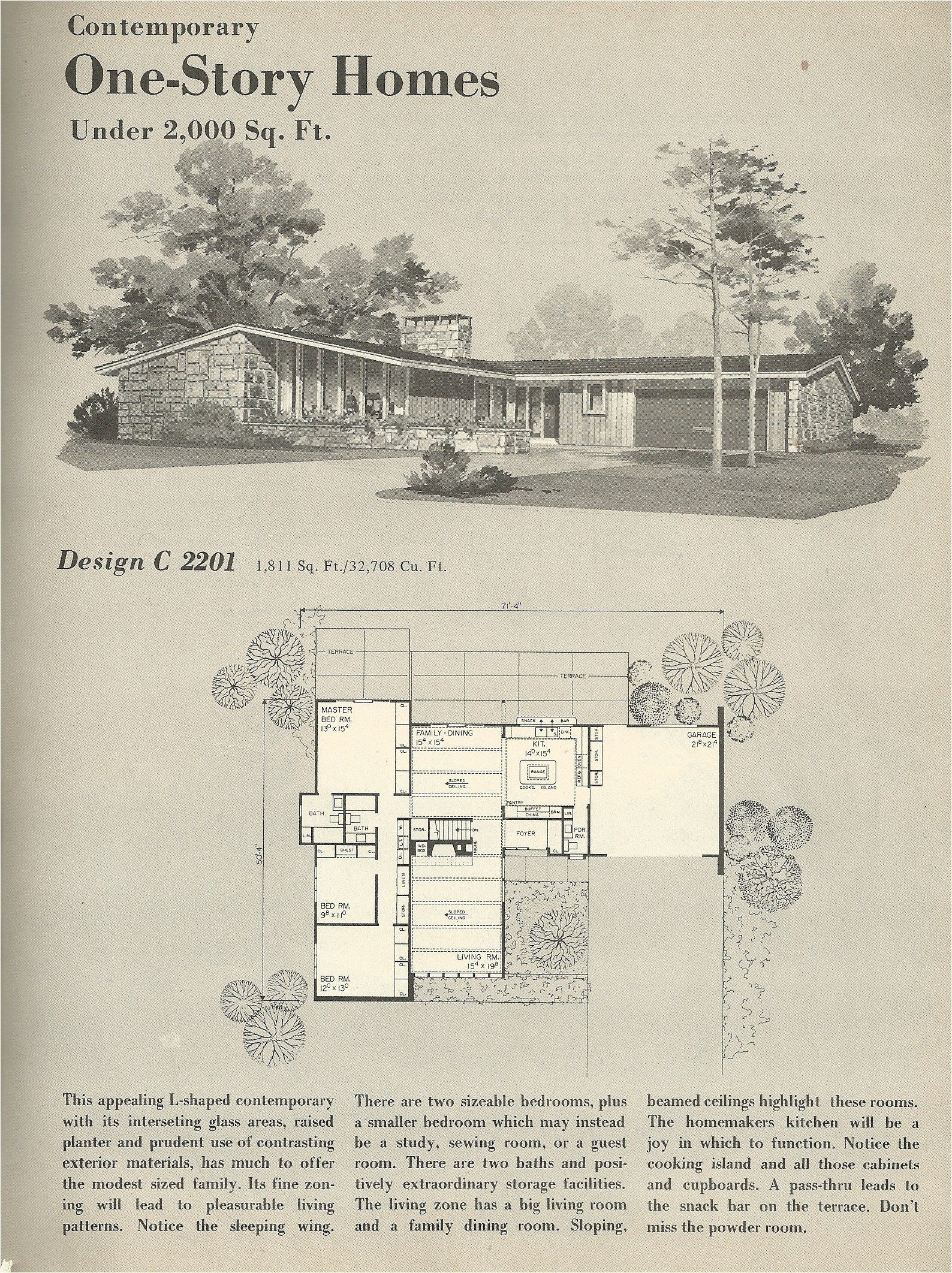 vintage house plans 2201