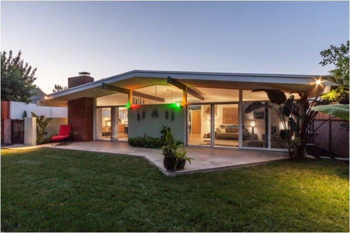 van nuys mid century modern home