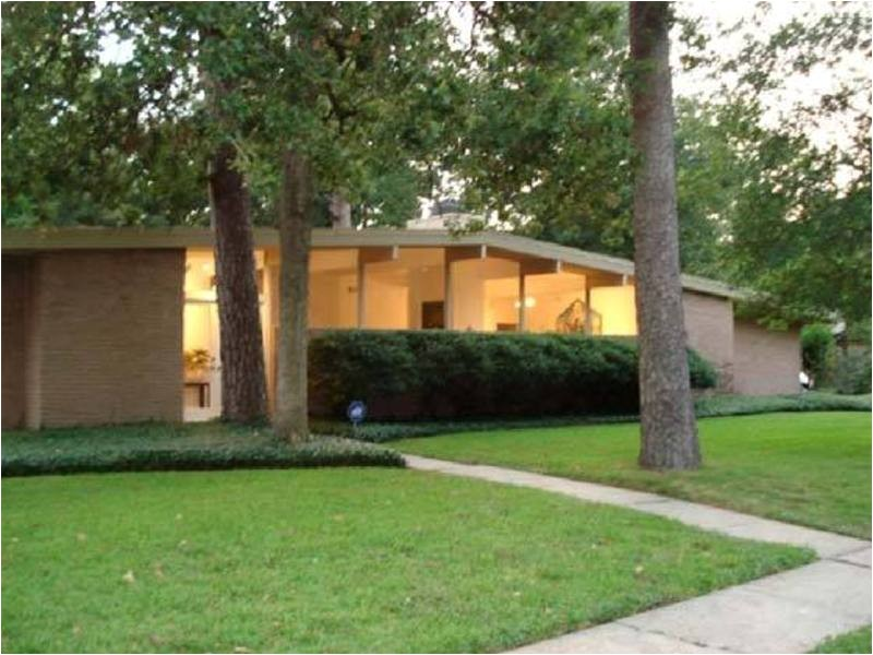 mid century modern home for sale in memorial bend