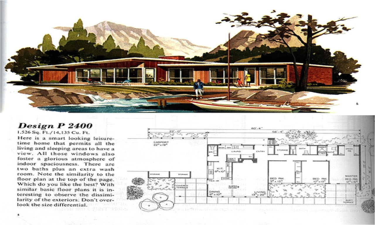 mid century ranch house plans also modern