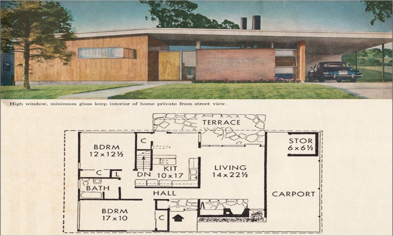 e920468538473c8b mid century modern house plans mid century modern ranch