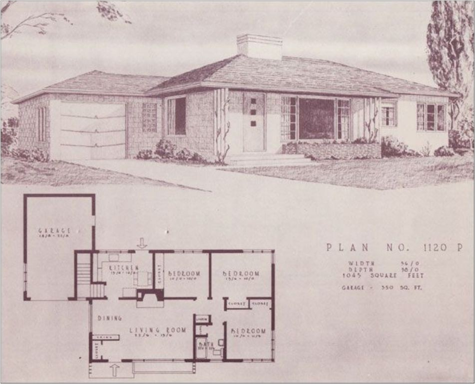 Mid Century Ranch Home Plans Mid Century Ranch House Plans Book House Design  And Office