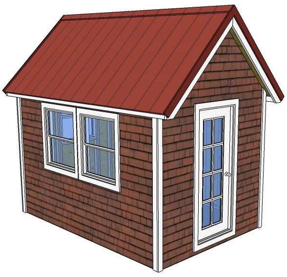 8x12 tiny house free plans