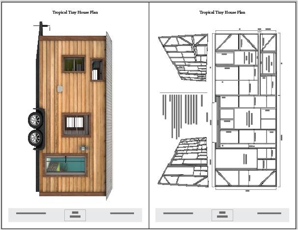 tropical tiny house plans